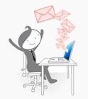 les notifications d'évènements par e-mail